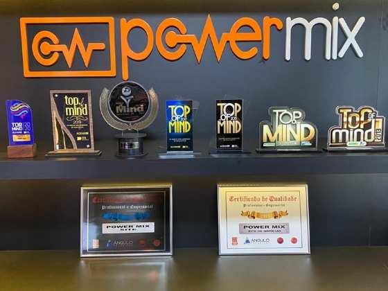 PRÊMIOS TOP OF MIND POWER MIX